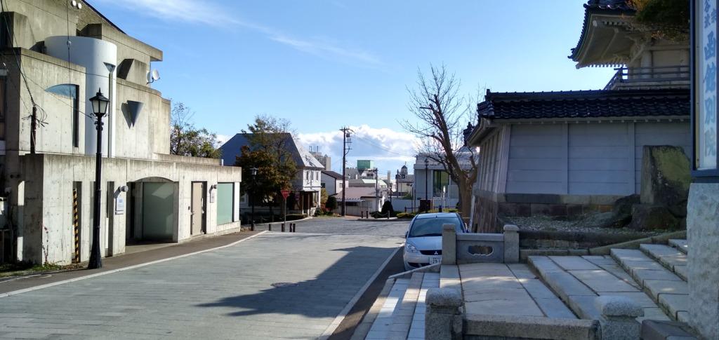 函館山中腹