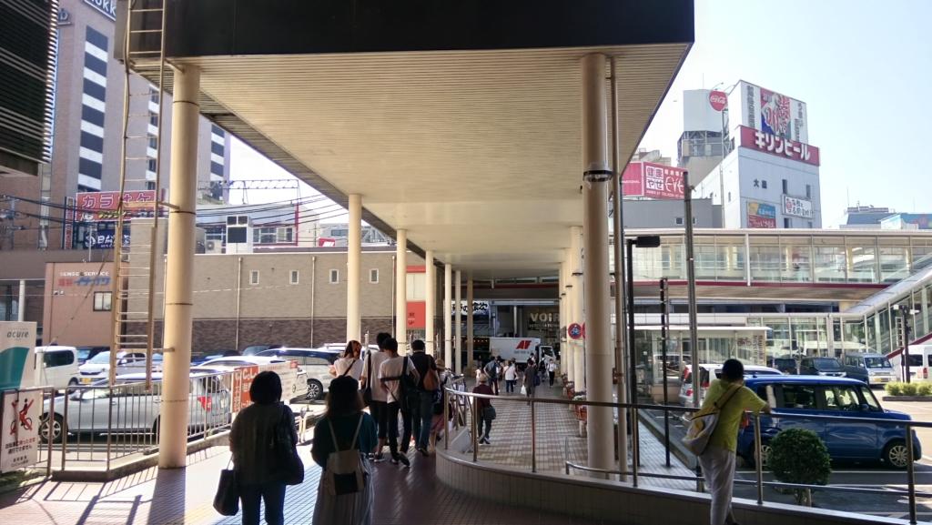 長岡駅周辺